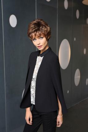 Parrucca_donna_modello_Beautiful_in_capello_sintetico_corto_colore_castano_costruzione_in_tessitura