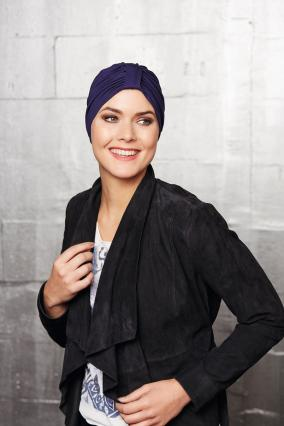 Turbante_donna_Acktion_in_morbido_cotone_e_Spandex